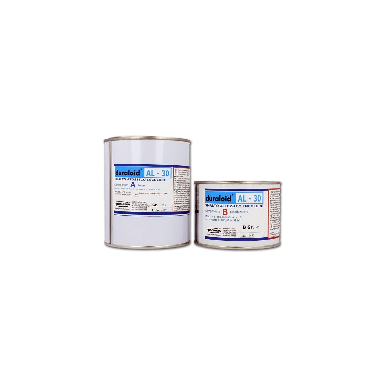 Duraloid al30 prochima resina epossidica trasparente for Resina epossidica bricoman