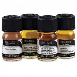 Set di 4 medium da 30 ml per pittura a olio Winsor&Newton