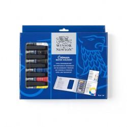 Cotman Water Colour Set da 6 tubi Consigli e Tecniche