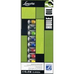 Colori ad Olio Louvre Lefranc&Bourgeois confezione in cartone tubi 12 ml