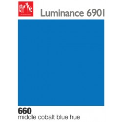 Matite colorate Caran d'Ache Luminance - Blu cobalto medio imit. (660)