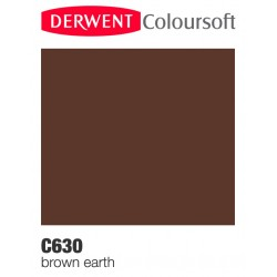 Bellearti-it-Matite-Derwent-ColourSoft-Brown-Earth