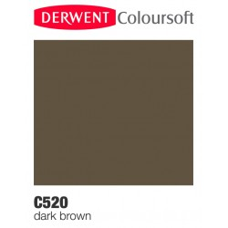 Bellearti-it-Matite-Derwent-ColourSoft-Dark-Brown