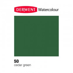 Matita Acquarellabile Derwent WaterColour Cedar Green