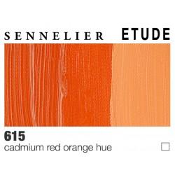 Colori ad Olio Sennelier Studio Rosso di Cadmio Arancio imit. (615) tubo da 200 ml