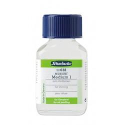 Mussini Medium 1 per diluire 038 Schmincke, flacone in vetro da 60 ml