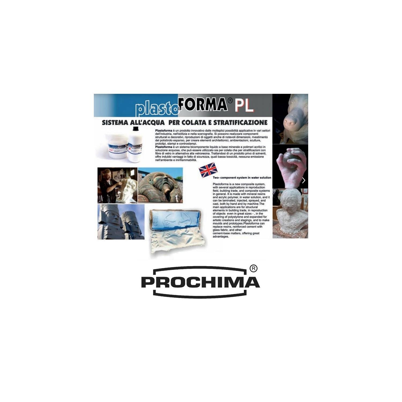 sistema all/'acqua per colata e stratificazione Plastoforma 3,5 kg Prochima