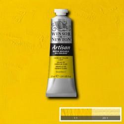Olio ad Acqua Artisan Winsor&Newton tubo da 37 ml. Giallo di Cadmio Chiaro (113)