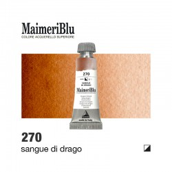 Acquerelli Maimeri Blu - Tubo da 12 ml. - Sangue di drago (270)