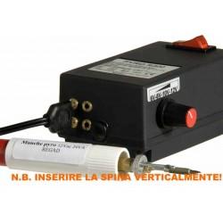 Bellearti-it-Pirografo-R-300-con-2-uscite-e-regolatore-di-temperatura-per-Disegnare-e-Scrivere-sul-Legno