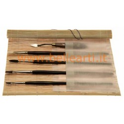 Bellearti-it-Portapennelli-in-Bambu-con-tasche-in-tela