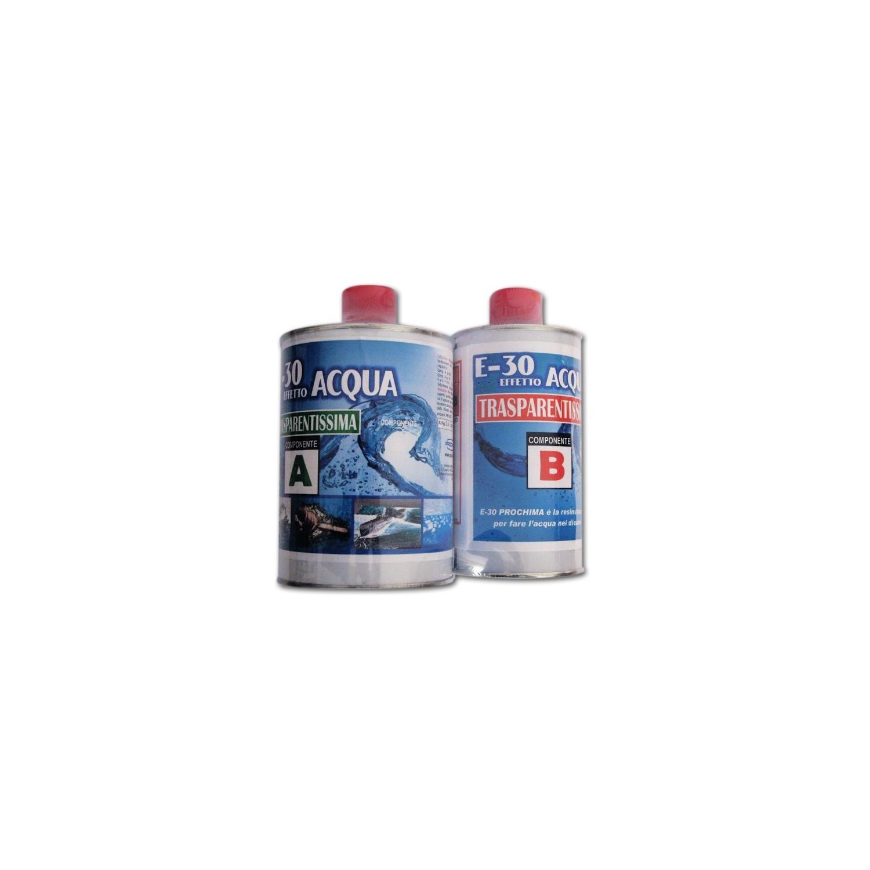 E 30 effetto acqua prochima resina epossidica for Resina epossidica bricoman