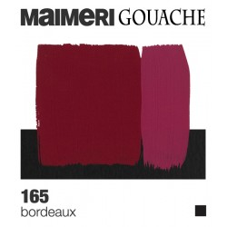 Colori a Tempera extrafine Maimeri Gouache Bordeaux, tubo da 20 ml