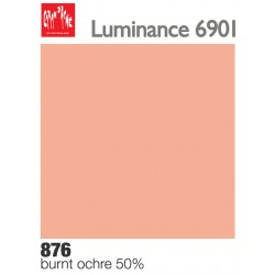 Matite colorate Caran d'Ache Luminance - Ocra bruciata 50% (876)