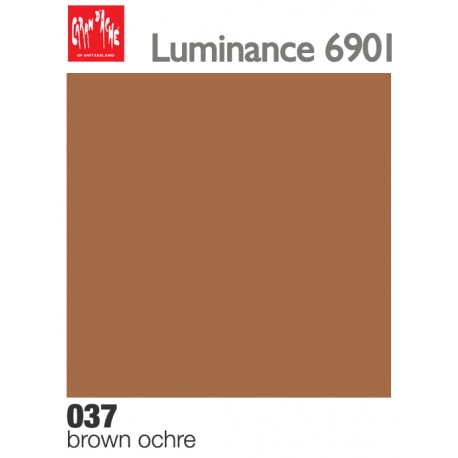 Matite colorate Caran d'Ache Luminance - Ocra bruna (037)