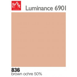 Matite colorate Caran d'Ache Luminance - Ocra bruna 50% (836)