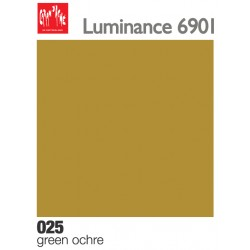 Matite colorate Caran d'Ache Luminance - Ocra verde (025)