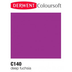 Matite Colorate Derwent ColourSoft - Fuchsia Scuro (C140)