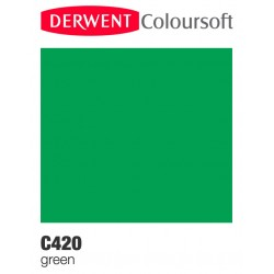 Matite Colorate Derwent ColourSoft - Verde (C420)