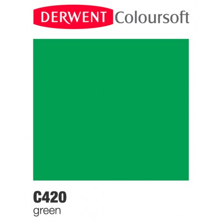 Bellearti-it-Matite-Derwent-ColourSoft-Green