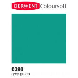 Matite Colorate Derwent ColourSoft - Verde Grigiastro (C390)