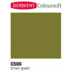Matite Colorate Derwent ColourSoft - Verde Muschio (C500)