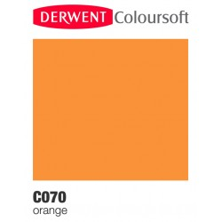 Bellearti-it-Matite-Derwent-ColourSoft-Orange