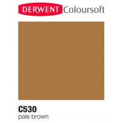 Matite Colorate Derwent ColourSoft - Marrone Pallido (C530)