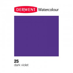 Matita Acquarellabile Derwent WaterColour Violetto Scuro (25)