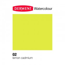 Matita Acquarellabile Derwent WaterColour Giallo Limone (02)