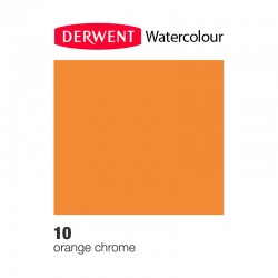 Matita Acquarellabile Derwent WaterColour Arancio Cromo (10)