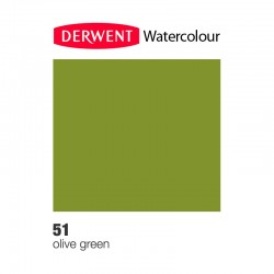 Matita Acquarellabile Derwent WaterColour Olive Green