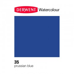 Matita Acquarellabile Derwent WaterColour Blu di Prussia (35)