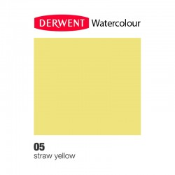 Matita Acquarellabile Derwent WaterColour Giallo Paglia (05)