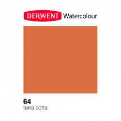 Matita Acquarellabile Derwent WaterColour Terracotta