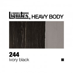 Colori Acrilici Liquitex Heavy Body Nero d'Avorio (244)