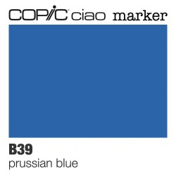 "Pennarello Copic ""Ciao Marker"" (B39) Prussian Blue"