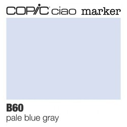 "Pennarello Copic ""Ciao Marker"" (B60) Pale Blue Gray"
