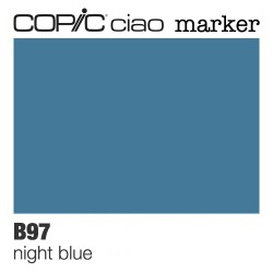 "Pennarello Copic ""Ciao Marker"" (B97) Night Blue"
