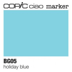 "Pennarello Copic ""Ciao Marker"" (BG05) Holiday Blue"