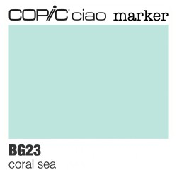 "Pennarello Copic ""Ciao Marker"" (BG23) Coral Sea"
