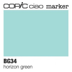 "Pennarello Copic ""Ciao Marker"" (BG34) Horizon Green"