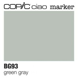 "Pennarello Copic ""Ciao Marker"" (BG93) Green Gray"