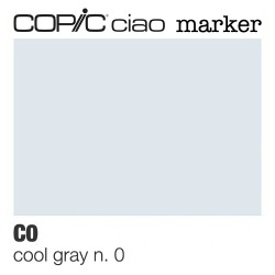 "Pennarello Copic ""Ciao Marker"" (C0) Cool Gray 0"