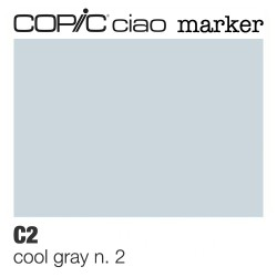 "Pennarello Copic ""Ciao Marker"" (C2) Cool Gray 2"