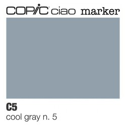 "Pennarello Copic ""Ciao Marker"" (C5) Cool Gray 5"