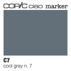 "Pennarello Copic ""Ciao Marker"" (C7) Cool Gray 7"