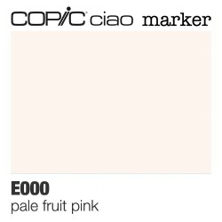 "Pennarello Copic ""Ciao Marker"" (E000) Pale Fruit Pink"