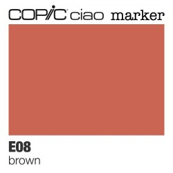"Pennarello Copic ""Ciao Marker"" (E08) Brown"