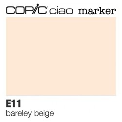 "Pennarello Copic ""Ciao Marker"" (E11) Barely Beige"